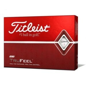 Best Golf Balls For Beginners and High Handicappers - Titleist TruFeel