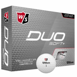 Best Golf Balls For Beginners and High Handicappers - Wilson Staff Duo Soft+