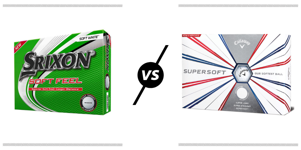 RBG Srixon Soft Feel vs Callaway Supersoft Review Featured Image