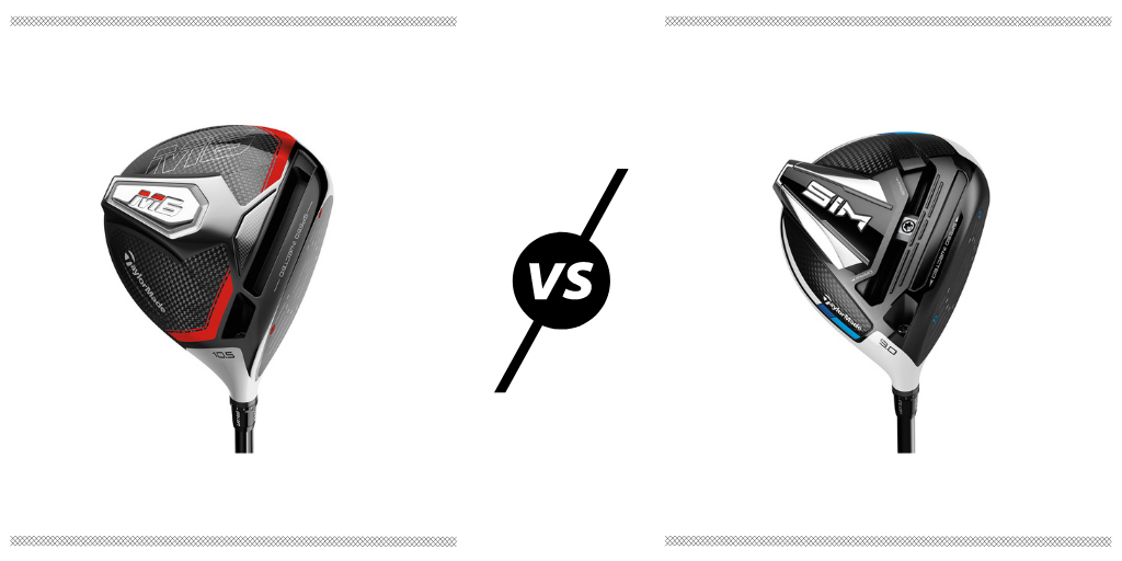 RBG TaylorMade M6 vs SIM Driver Review Featured Image